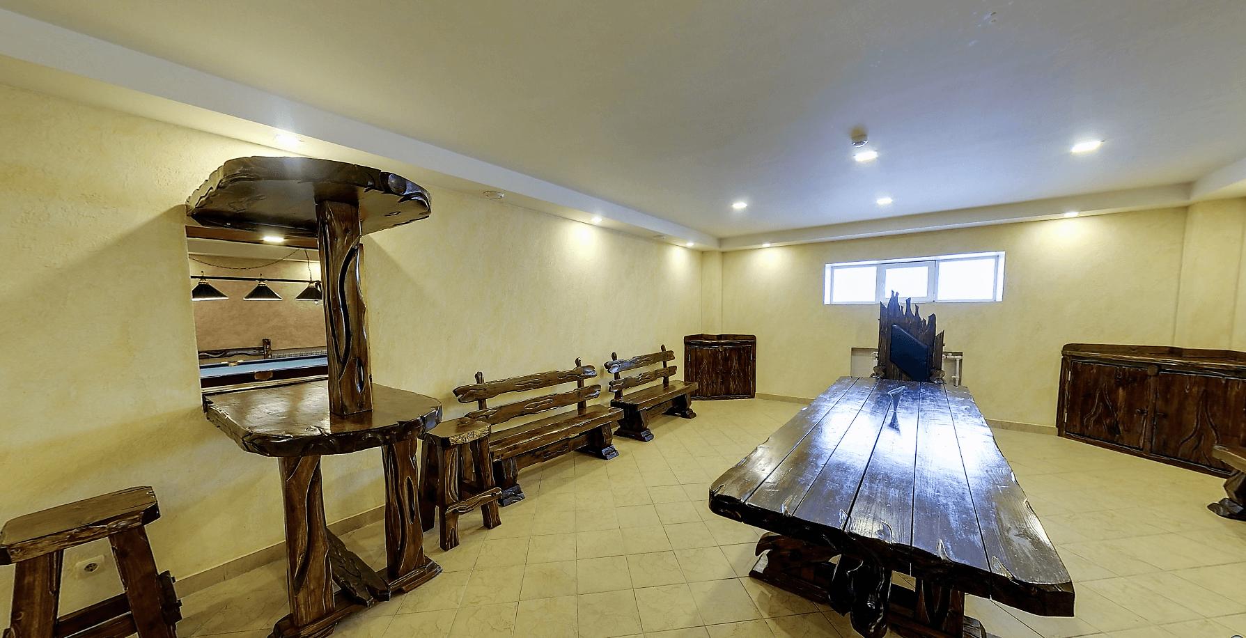 Банкетный зал_a сауна Крутой вираж